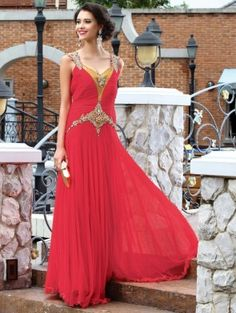Red Net Wedding Gown With  Lycra Inner