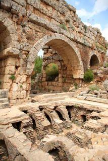 roman aqueducts near Antalya in southwestern Turkey