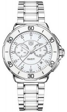 Tag Heuer Formula 1 Chronograph Ladies watch, model number - cah1211.ba0863, discount price of £1,380.00 from the watch source