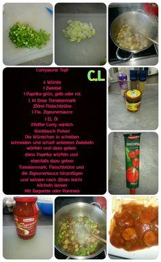 Currywurst Eintopf