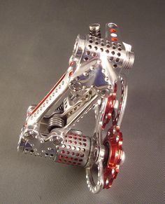DRILLIUM Nuovo Record Derailleur | This is a commissioned pi… | Flickr