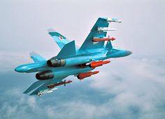 Фото Су-34 с ракетным вооружением