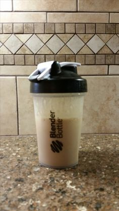 my favorite protein shake:  1 scoop vanilla protein powder of choice, @ 2 tsp. PB powder, 1 tsp. instant coffee, @ 1 c. unsweetened vanilla almond milk.  Add to blender bottle and shake.  Optional, put in a couple of coffee ice cubes to help keep cold if you're not going to drink or put in fridge right away.