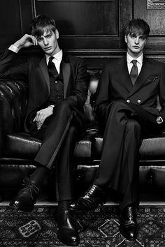 Ben Allen& Robert Laby| Photographed by Damon Baker for GQ Russia Magazine