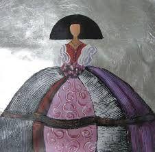 Resultado de imagen de imágenes de meninas para pintar