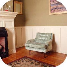 Turquoise velvet chair