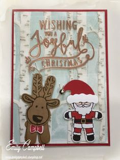 Cookie Cutter Christmas sneak peek, see more at Tiny Kiwi Cards.