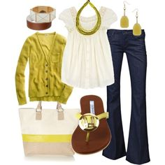 scintillating citrus, created by htotheb on #clothes for summer #tlc waterfalls #my summer clothes| http://tlc-waterfalls-898.blogspot.com