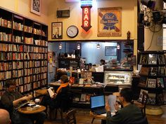 Many moons ago, I was a Haligonian. And when I was there, this was MY place. Trident Booksellers & Cafe.