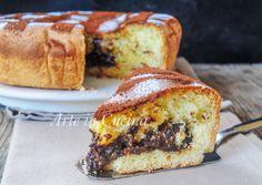 Torta di frolla e pan di spagna nutella e cioccolato