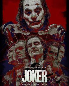 JOKER alternative movie poster animation - Anime Characters Epic fails and comic Marvel Univerce Characters image ideas tips Harley Quinn, Joker Und Harley, Der Joker, Joker Heath, Joker Batman, Joker Art, Joker Poster, Movie Poster Art, Film Posters