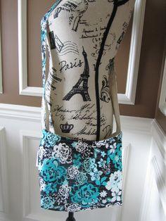 Mini Hobo Crossbody Style Shoulder Bag by LittleMissPoBean on Etsy