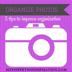 #organize #photos so you don't have piles of unorganized #pictures!