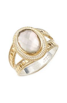 Anna Beck Oval Stone Split Ring available at #Nordstrom