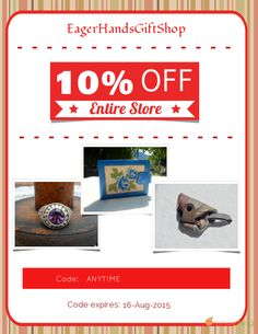 Get 10% OFF our Entire Store now! Enter Coupon Code: ANYTIME. Click here to avail coupon: https://orangetwig.com/shops/AAAlltu/campaigns/AABIljf?cb=2015008&sn=EagerHandsGiftShop&ch=pin&crid=AABIl4P