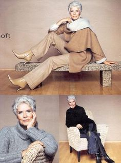 Susanne Schoneborg Fashion styles for women over 50... ugh. that'll be me in one year and two months...