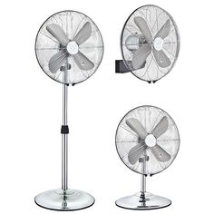 Westinghouse Silver Stream Chrome 3 in 1 Portable Fan