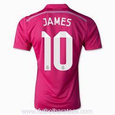 Camiseta de James 10 Real Madrid 2nd 2015 baratas
