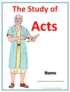 Bible Fun For Kids: Acts Worksheets (All in One Place!)