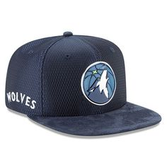Men's Minnesota Timberwolves New Era Blue 2017 NBA Draft Official On Court Collection 9FIFTY Snapback Hat