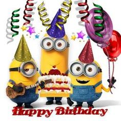 Take a look at the best Minion birthday quotes in the photos below and get ideas for your own birthday wishes! Happy Birthday Status, Funny Happy Birthday Images, Happy Birthday My Friend, Birthday Wishes Funny, Singing Happy Birthday, Happy Birthday Messages, Happy Birthday Greetings, Happy Birthday Child, Minion Birthday Quotes