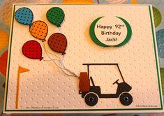 Birthday Card for a Golfer!
