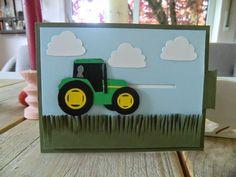 Ziehkarte Traktor