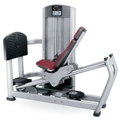 The Life Fitness Signature Series Seated Leg Press is a great machine for targeting your quad muscles. This model is designed an a upright exercise position, Weight Lifting Equipment, No Equipment Workout, Body Weight Machine, 300 Workout, Workout Diet, Quad Muscles, Commercial Fitness Equipment, Workout Machines, Gadgets