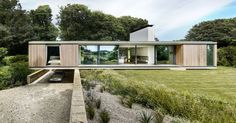 This Modern House In England Is Designed To Live Low On The Land