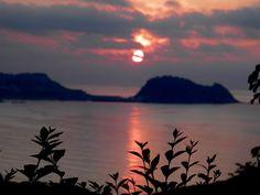 Sunsets in Zarautz