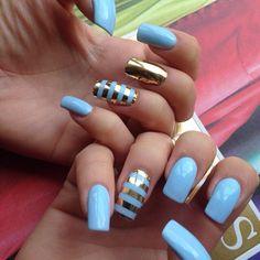 Pretty Nail Art Designs Elegant Pretty Nails Art for Hand Nails by Nail Art Mania Hand Classy Nails, Stylish Nails, Simple Nails, Simple Nail Art Designs, Easy Nail Art, Nail Designs, Pretty Designs, Fabulous Nails, Gorgeous Nails