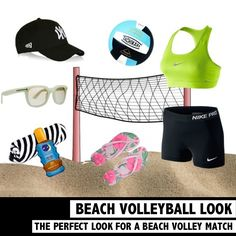 Wondering what to wear to a beach event? Check out this look for the perfect outfit for a match of beach volleyball. See the look on www.rosportlife.com