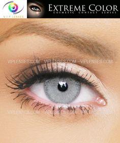 Extreme Passionate Platinum Contact Lenses | VIP Lenses