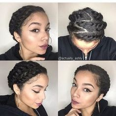 flat twists protective hairstyles for summer natural hair