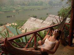 Nong Kiau #nongkiau #Laos #southeasteasia #hammocklife #offthebeatentrack #backpacking by @the_wanderlust_kid