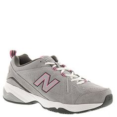 New Balance Women's WX608v4 Grey/Pink Sneaker 6.5 D - Wide >>> Click image to review more details.