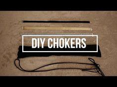 5 DIY CHOKERS   Rhinestone, Fabric, Suede Lace etc - YouTube