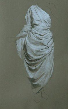 drapery study by Katie Liddiard