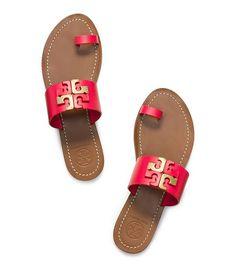 ff892dcf2fe73 LOWELL FLAT SLIDE - RED PEPPER Kinds Of Shoes