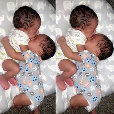 Double tap if you want twins Cute Baby Boy, Mix Baby Girl, Twin Baby Boys, Twin Babies, Cute Kids, Baby Kids, Twins, Beautiful Black Babies, Beautiful Children