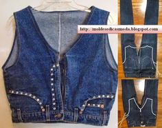 SEWING AND FASHION TIPS: RECYCLING OF JEANS