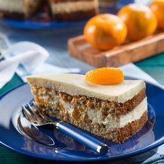 Orangencreme-Möhren-Torte