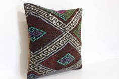 Excited to share the latest addition to my #etsy shop: Anatolian Kilim Pillow Embroidered Kilim Pillow 18x18 Turkish Kilim Pillow Handwoven Kilim Pillow Ethnic Pillow Cushion Cover SP4545 https://etsy.me/2uLGDna #housewares #pillow #square #wool #coveronly #linen #pati