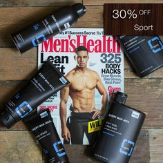"""""""Sun, surf, and wind can wreak havoc on your body. If you spend a lot of time in a pool or salt water (which dries skin and hair), be sure to wash right after with a gentle cleanser. Try: Every Man Jack's 2-in-1 Body + Face Wash   Anti-Chlorine."""" –  via Men's Health   Check out Every Man Jack in the July issue of Men's Health.  To celebrate, we're taking 30% OFF all our SPORT products through Friday July 28th, 11:59pm PST.   Use coupon code """"MENSHEALTH"""" at checkout."""