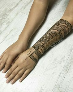 Only The Best Mehndi (Henna) Designs - -You can find Mehndi and more on our website.Only The Best Mehndi (Henna) Designs - - Henna Designs Arm, Modern Mehndi Designs, Beautiful Henna Designs, Mehndi Tattoo, Henna Mehndi, Mehendi, Tattoo Arm, Unique Henna, Simple Henna
