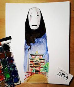 Ghibli fanart. Spirited Away