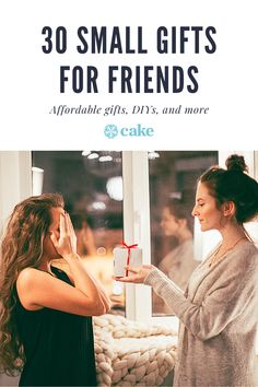 These affordable, small gifts for friends are perfect for making sure your friends know you value them. These gift ideas are affordable, DIY, and easy to find. There's something for every budget and style. If you're looking for a small gift idea, you're in luck. #GiftIdea #Gifts #FriendGifts #DIYGifts