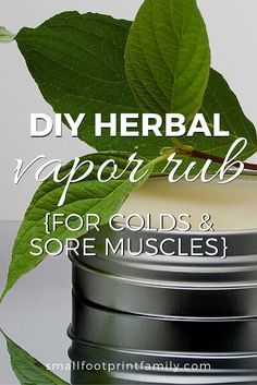 This recipe for homemade vapor rub will relieve chest congestion and coughing without the toxic petroleum products, parabens and other nasty additives. It'll soothe sore muscles, too!