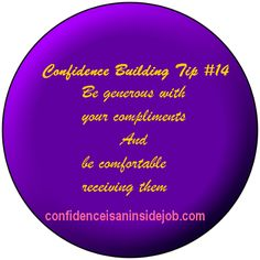 Confidence is an inside job Confidence Building, Self Confidence, I Cant Do This, Coach Quotes, Inside Job, 21 Days, Mindset, Compliments, Coaching