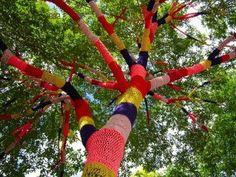 jardinitis: Árboles decorados